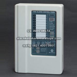 HC 10 AL Plastik Control Panel kebakaran Hong Chang 10 Zone Plastik Surabaya baru