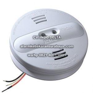 Photoeletric Smoke Alarm Baterai 9 Volt Bkup Kidde PI2010 Surabaya