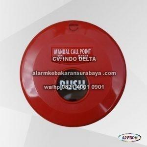 komponen alarm kebakaran Manual Push Button MC - 1W Appron surabaya (3)