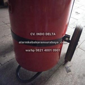 pemadam api tolley Delta Fire 90 Kg DRY CHEMICAL POWDER ABC baru wheel roda (2)