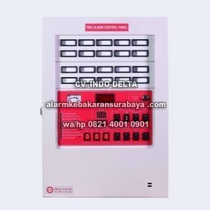 HC 20 AL Control Panel fire alarm Hong Chang 20 Zone Surabaya
