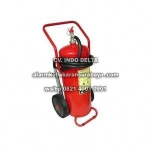 apar tabung pemadam trolley alat pemadam api kebakaran wheel roda besar 40 kg